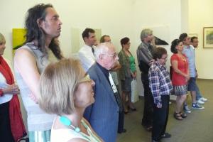a kiállítás megnyitó közönsége II.